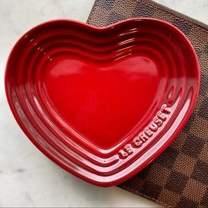 Heart Le Creuset jewelry holder